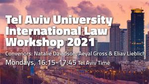 הסדנה למשפט בינלאומי מארחת את Sivan Shlomo