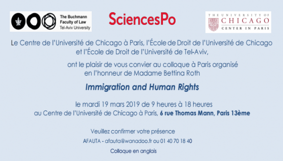 Conference on Immigration and human rights