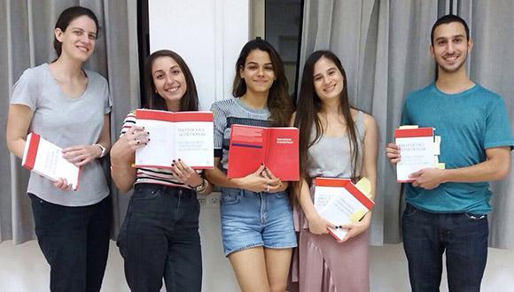 בהצלחה לנבחרות הפקולטה בתחרות הצלב האדום!